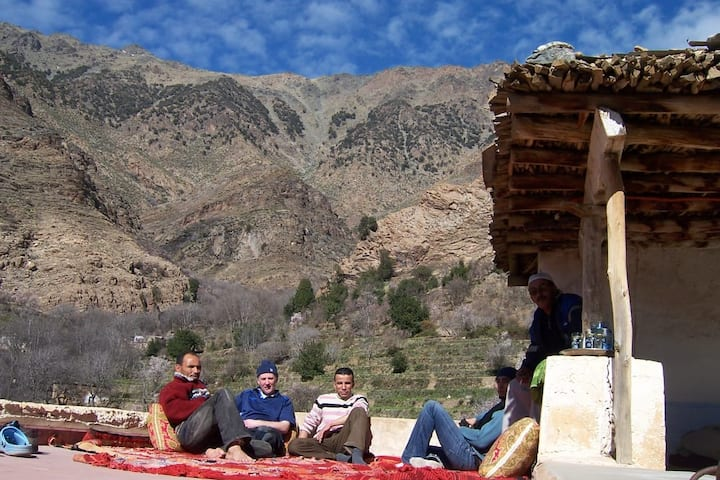 Cozy Traditional Berber house