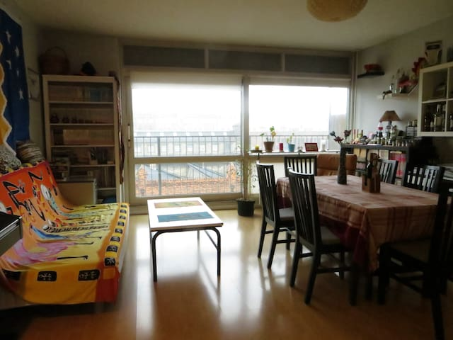Two rooms apartment with balcony - Copenhague - Departamento