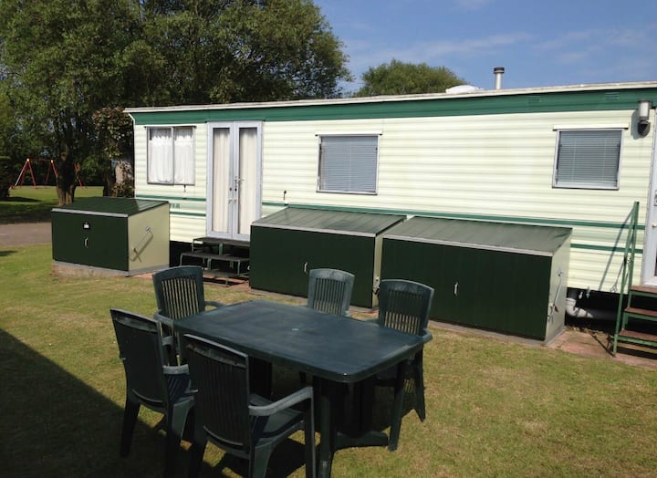 3 Bedroom caravan on Dymchurch caravan park