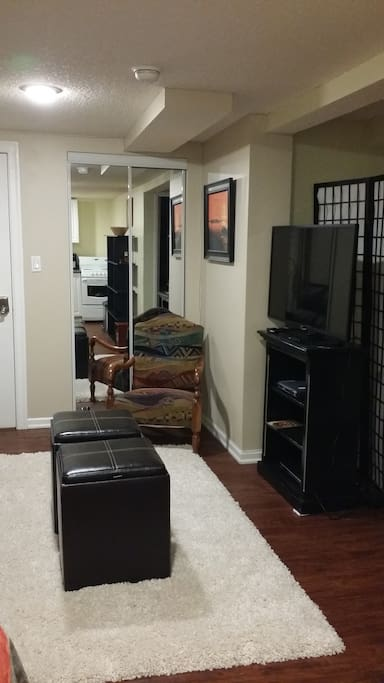 Smart TV and living area