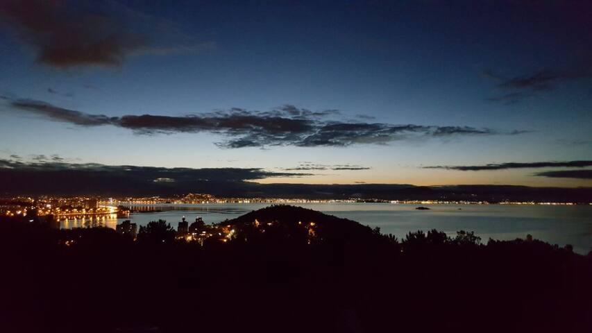 Vista Panorâmica de Florianópolis