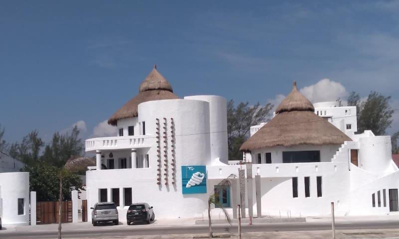 Villa del Cielo @ Villa Capricho (Frente Playa)