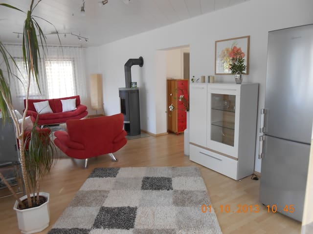 Geräumige helle Wohnung, nahe HD - Sandhausen - House