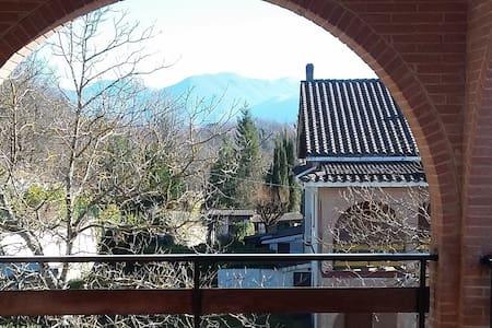 Villino panoramico tra le montagne e i prati - Altipiani di Arcinazzo - Villa