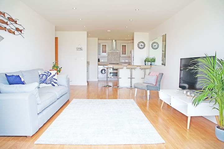 Stunning Sea View Apartment In Centre of Newquay - Newquay - Departamento