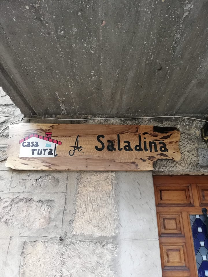 Casa rural A Saladina un espacio único