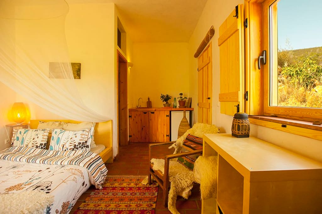 Private Suite with kitchenette and private Bathroom