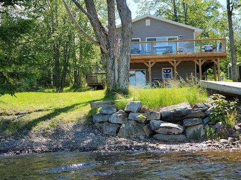 Loon's Call Lake House offers waterside relaxation