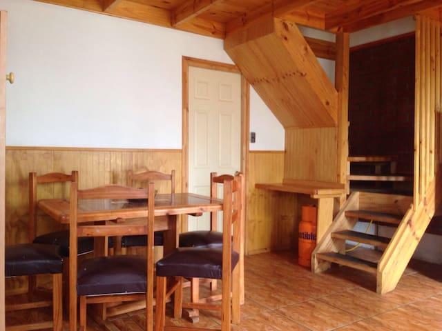 LINDERO AZUL / Cabañas Suiza / Los Andes