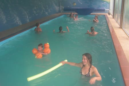 Parc Résidentiel de Gites au calme-piscine chauff - Le Ham - Bungalo