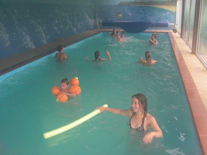 Parc Résidentiel de Gites au calme-piscine chauff