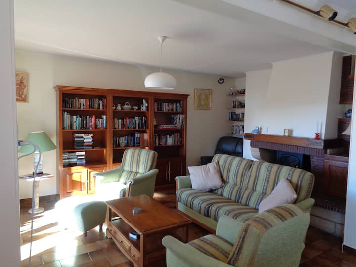 Grand appartement lumineux central