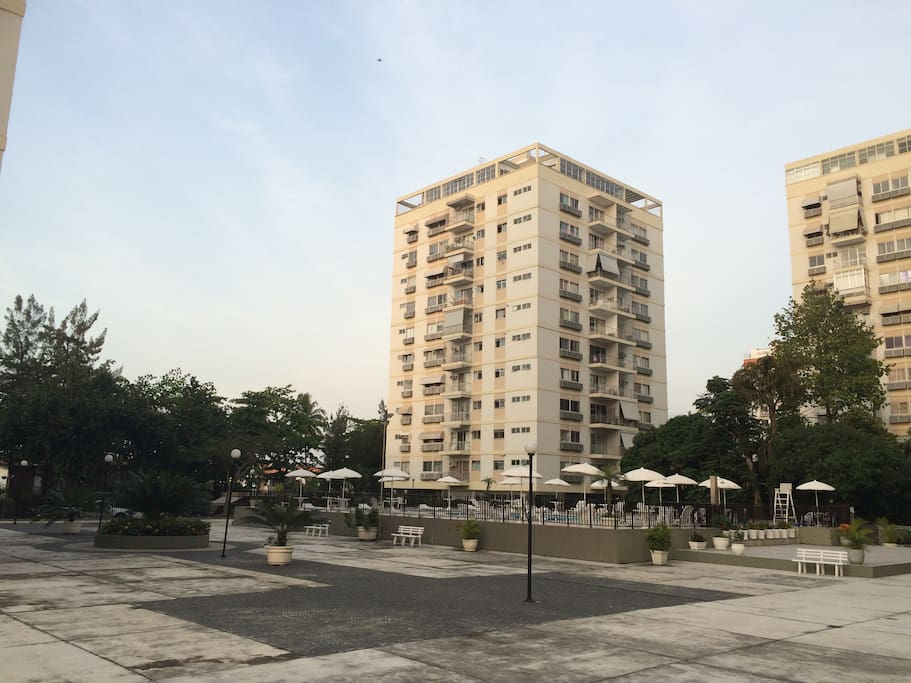 Área do condomínio