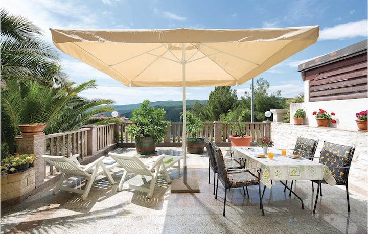 Nice home in Rabac with WiFi and 2 Bedrooms