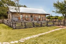 Honoring Dr. Richard Okerholm, this sweet escape sleeps up to 8 comfortably.  Wake up to morning coffee and watch the deer quietly pass by from the front porch rockers & gliders. Private, gated hill country ranch just 8 minutes from Main Street.