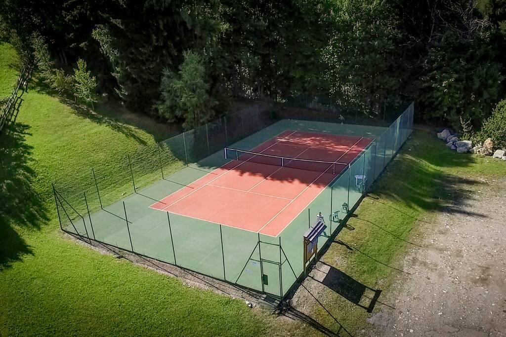 Terrain de tennis privée avec réservation