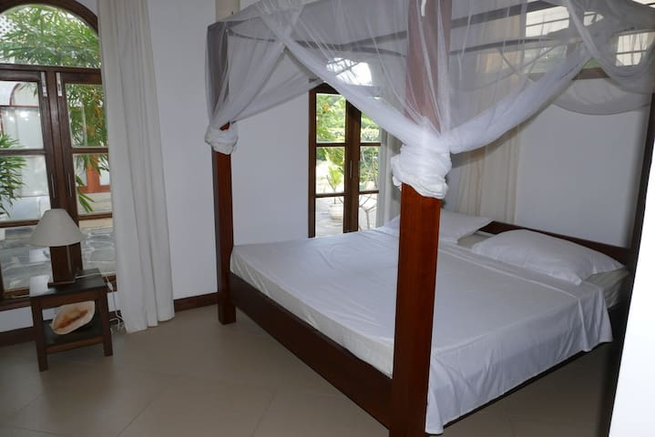 Bedroom from side