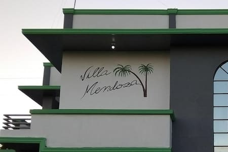 "Villa Mendoza only ""Room n2 Double A/C"" (2 person)"