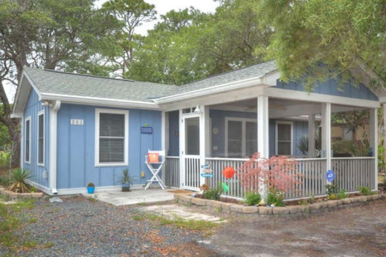 Blue NC Beach Cottage