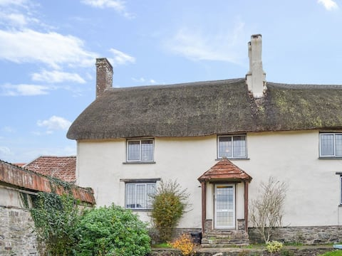 Picture Book Thatched  Country Cottage