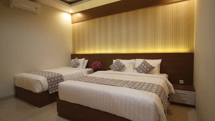 Canggu Suite Bed Room for 3 Persons