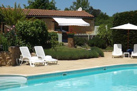 The Chestnuts a stone villa.