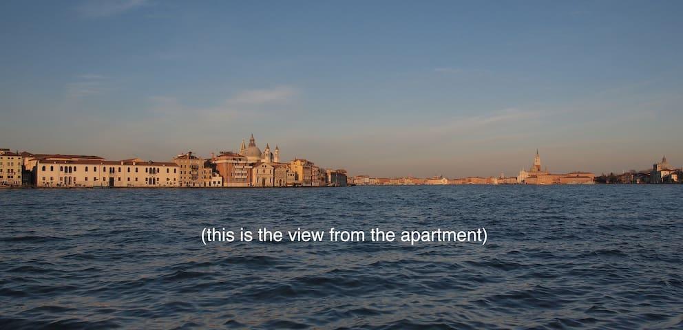 Spacious, bright, Giudecca Canal - Venècia