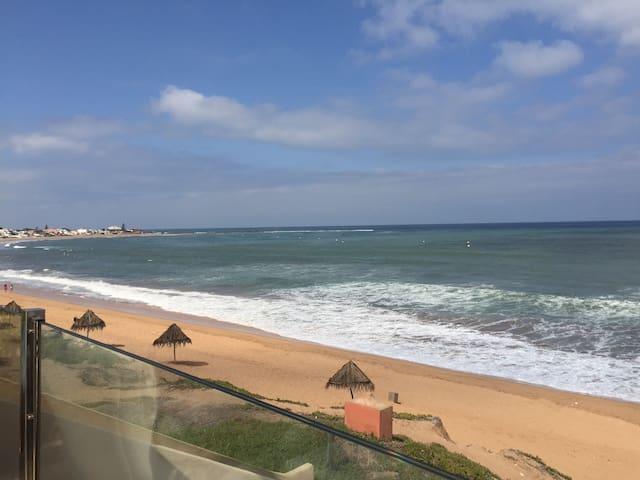 Beautiful sea view bedroom - Ben Slimane - Huoneisto
