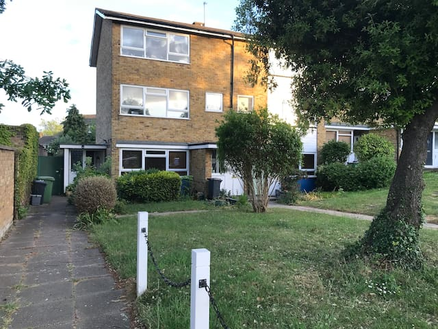 Contemporary gdn flat Crystal Palace 25min London