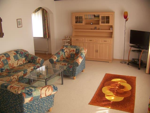 Familienfreundlich - Haus 55 EG - Arrach - Apartamento