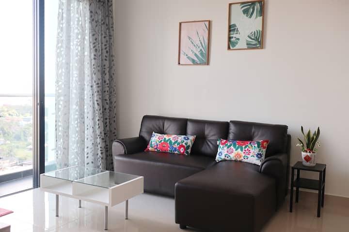 Cozy Apartment BLK A @ SkyRiverFront