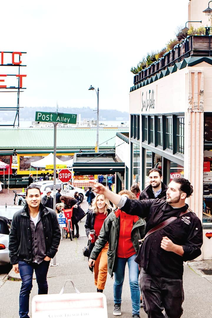 Brief Stop Through Pike Place Market