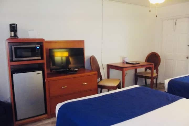Two Beds Across From Beach Access Point