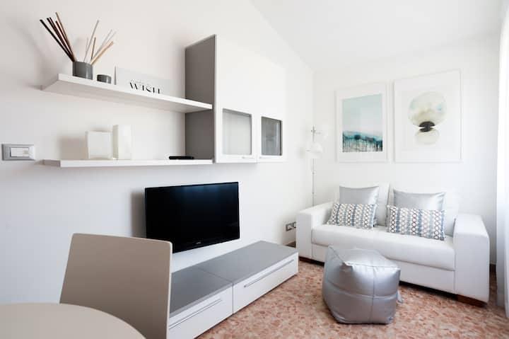 Accogliente mini appartamento mansardato