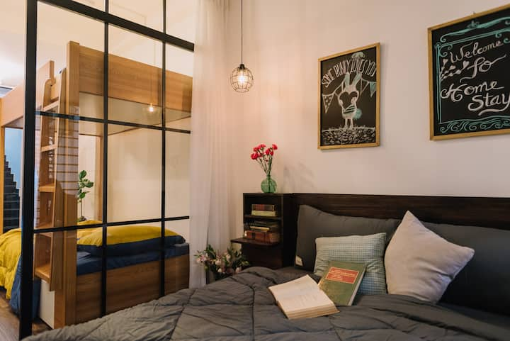 Piglet homestay No.3 - Family room for 4 guests