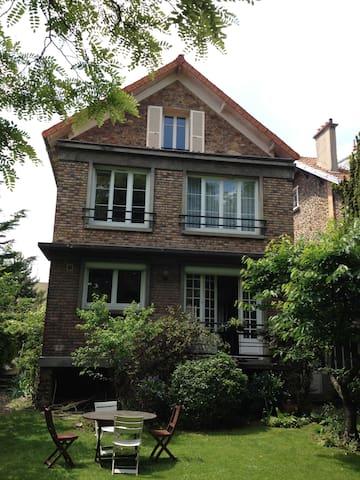 Chambre dans maison - Nogent-sur-Marne - Haus