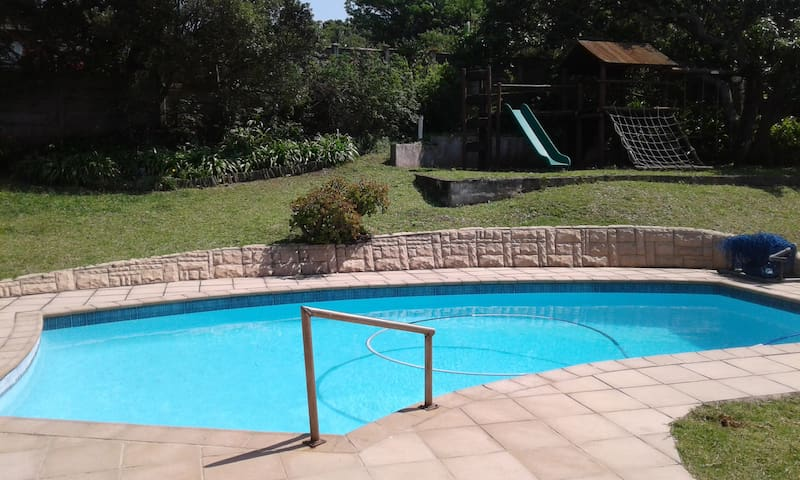 Private Swimming Pool & Children's Play Area