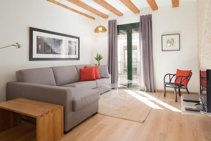 Stylish apartment in the heart of Barcelona