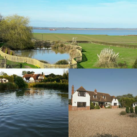 *Sleeps 20* Ensuite Rooms, Breathtaking scenery! - Essex - Hus
