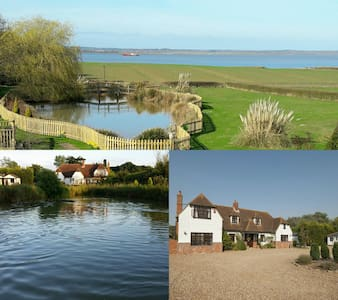 *Sleeps 20* Ensuite Rooms, Breathtaking scenery! - Essex - Dom