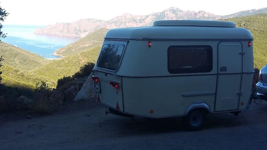 A louer caravane Eriba Puck 2 personnes