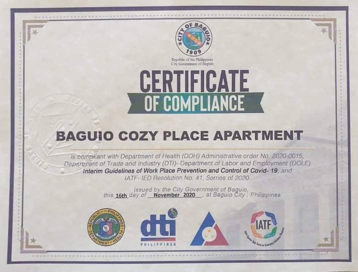 Baguio Cozy Place