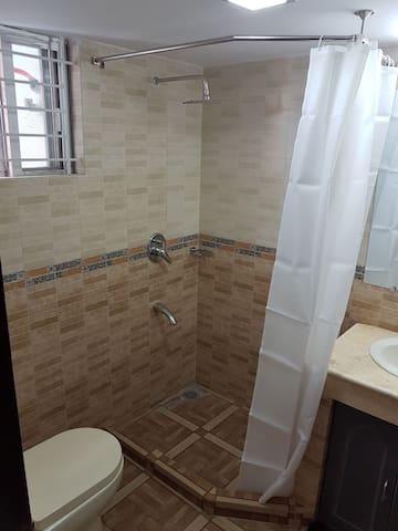 Child bedroom ensuite bathroom