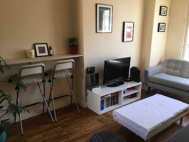 Appartement lumineux à 10mn de Paris