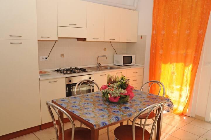 Appartamento piano terra Ostrica C