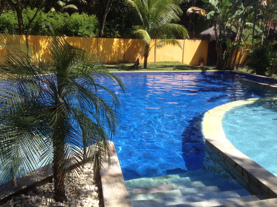 Entrada piscina