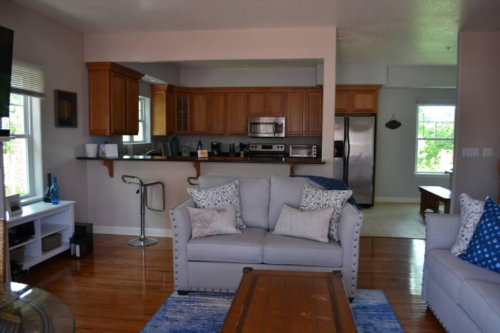 Open Floor Plan-Kitchen, Living Room, Dining Room