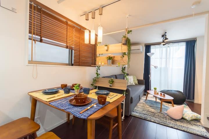 Shinjuku/Perfect Location/Warm house/Worth choose
