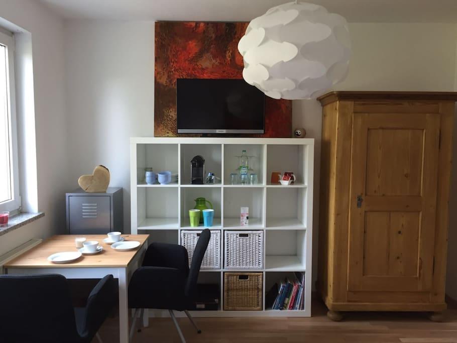gem tliches zimmer nahe messe appartements louer feucht bayern allemagne. Black Bedroom Furniture Sets. Home Design Ideas