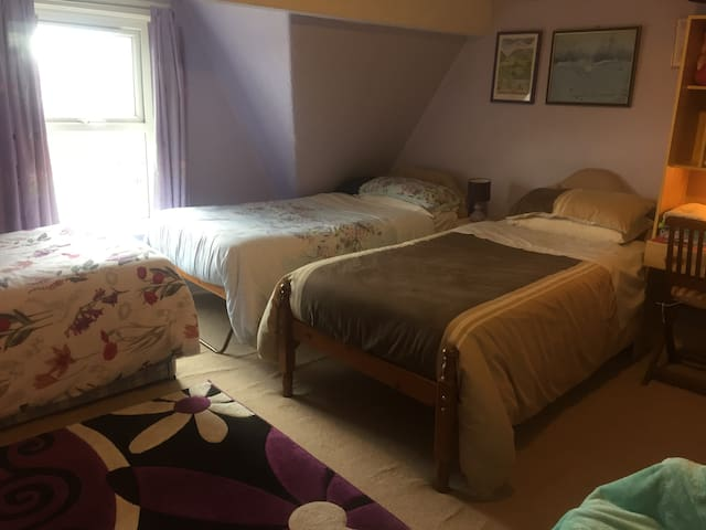 Rhyl, North Wales Coast Family / Quadruple Room 4+